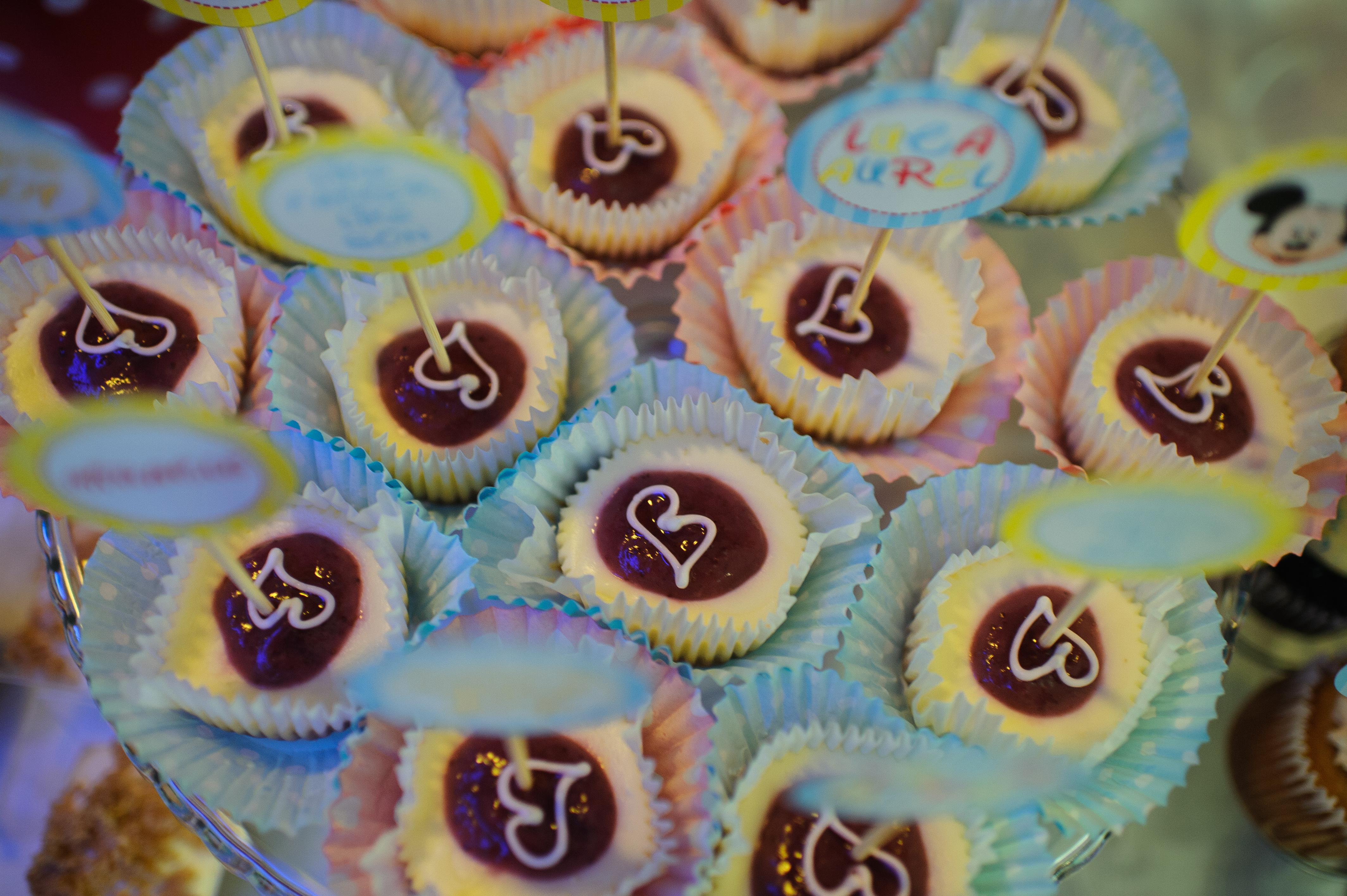 Prajiturele inimioare candy bar botez Mamaia