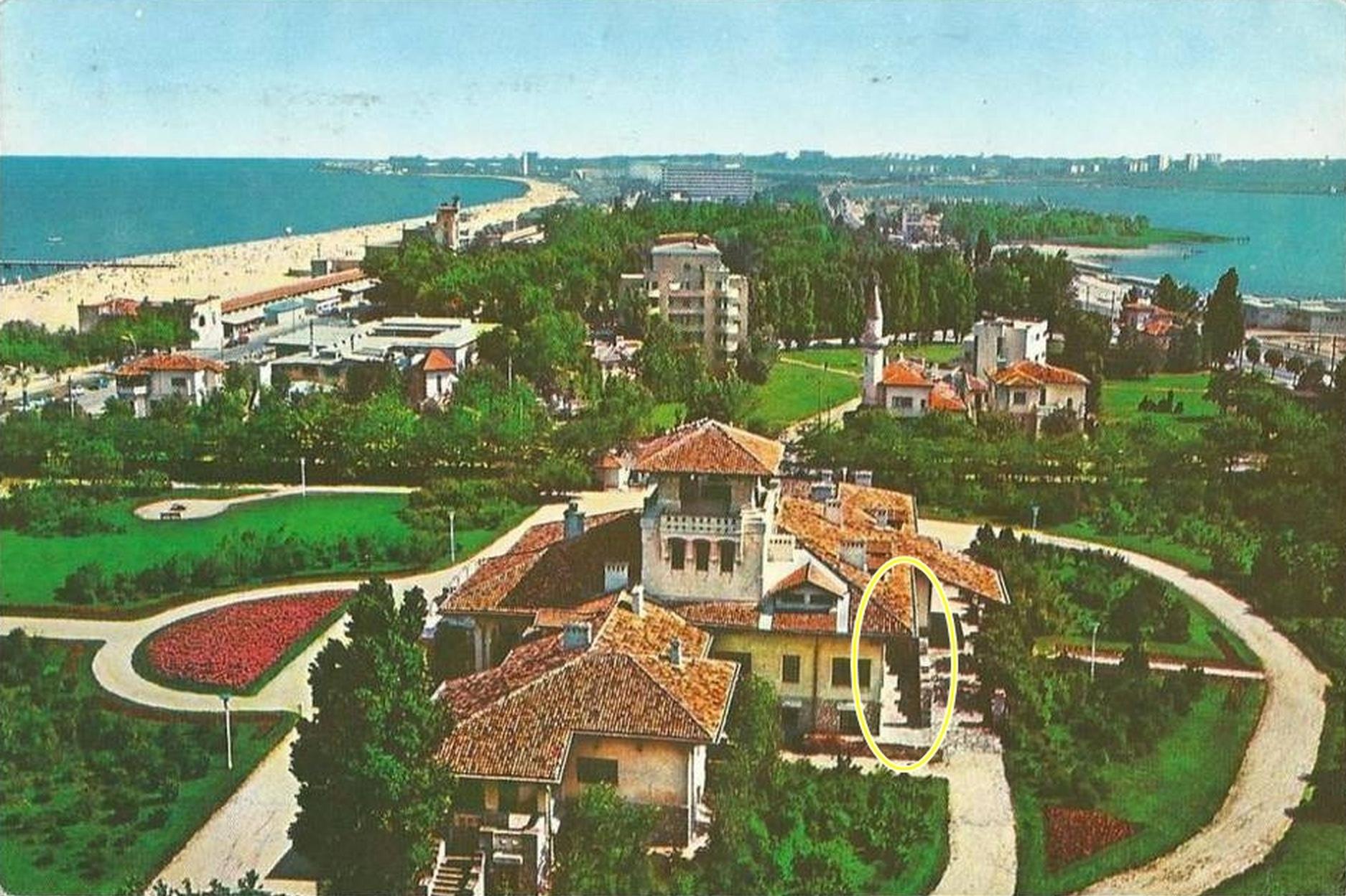 castel Mamaia 80s