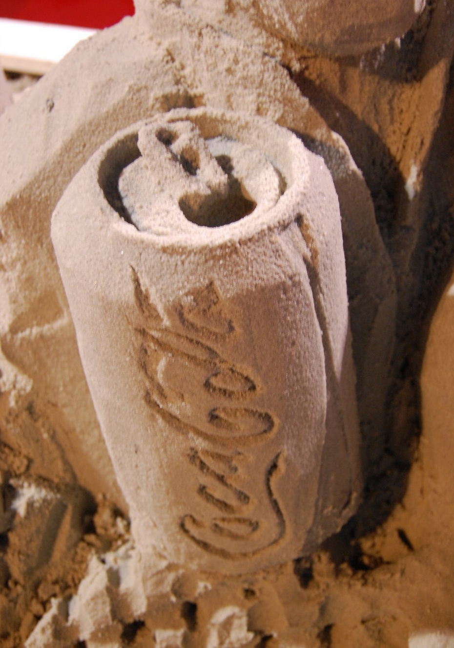 cocal cola sand work