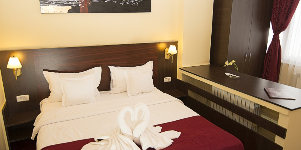 Dormitor Apartament - Hotel Parc Mamaia