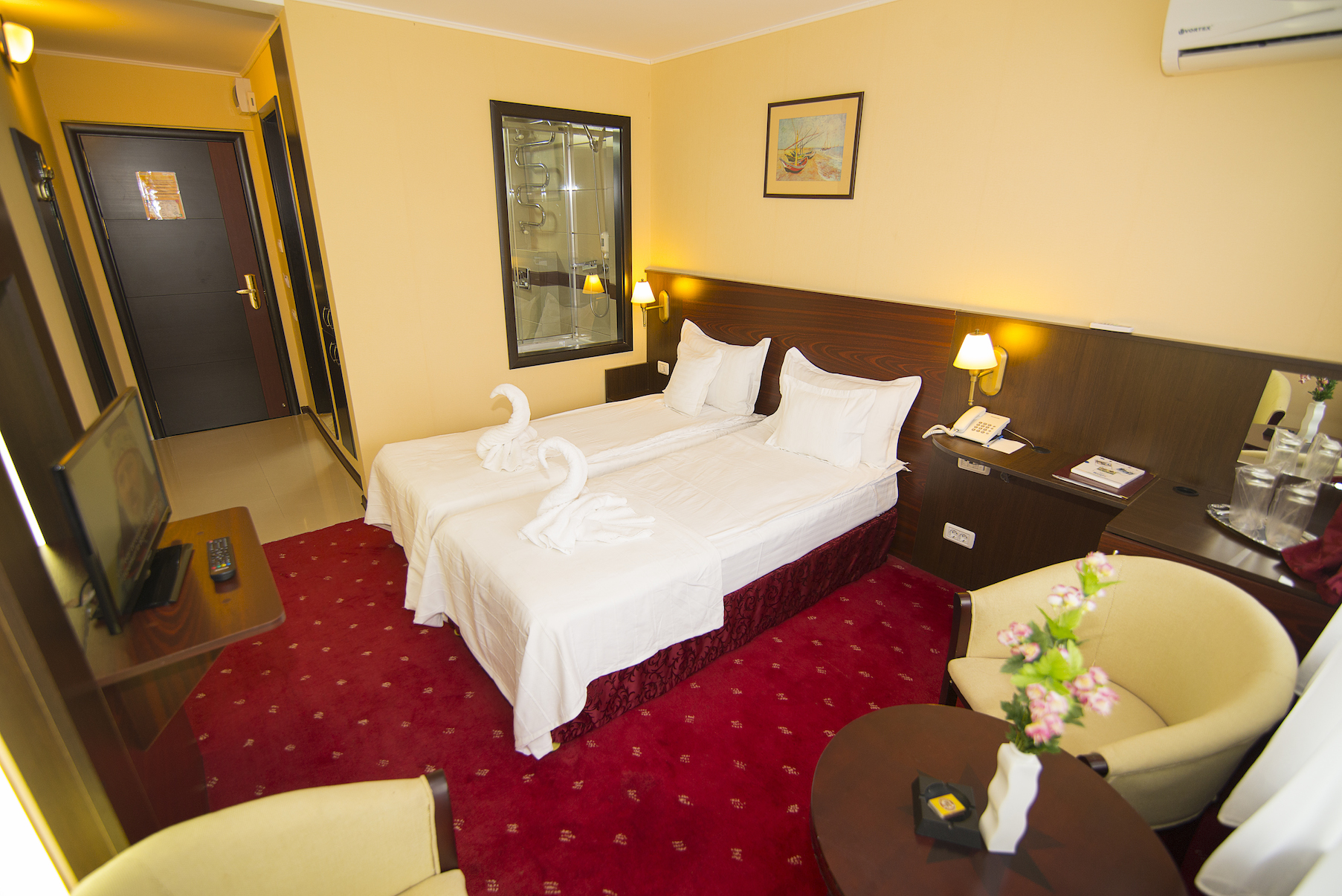 Twin Room Hotel Parc Mamaia