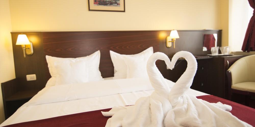 Heart towels