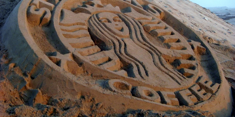 starbucks sand work