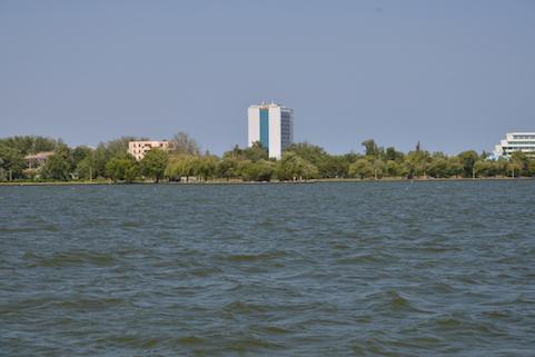 Parc Mamaia lacul Tabacarie