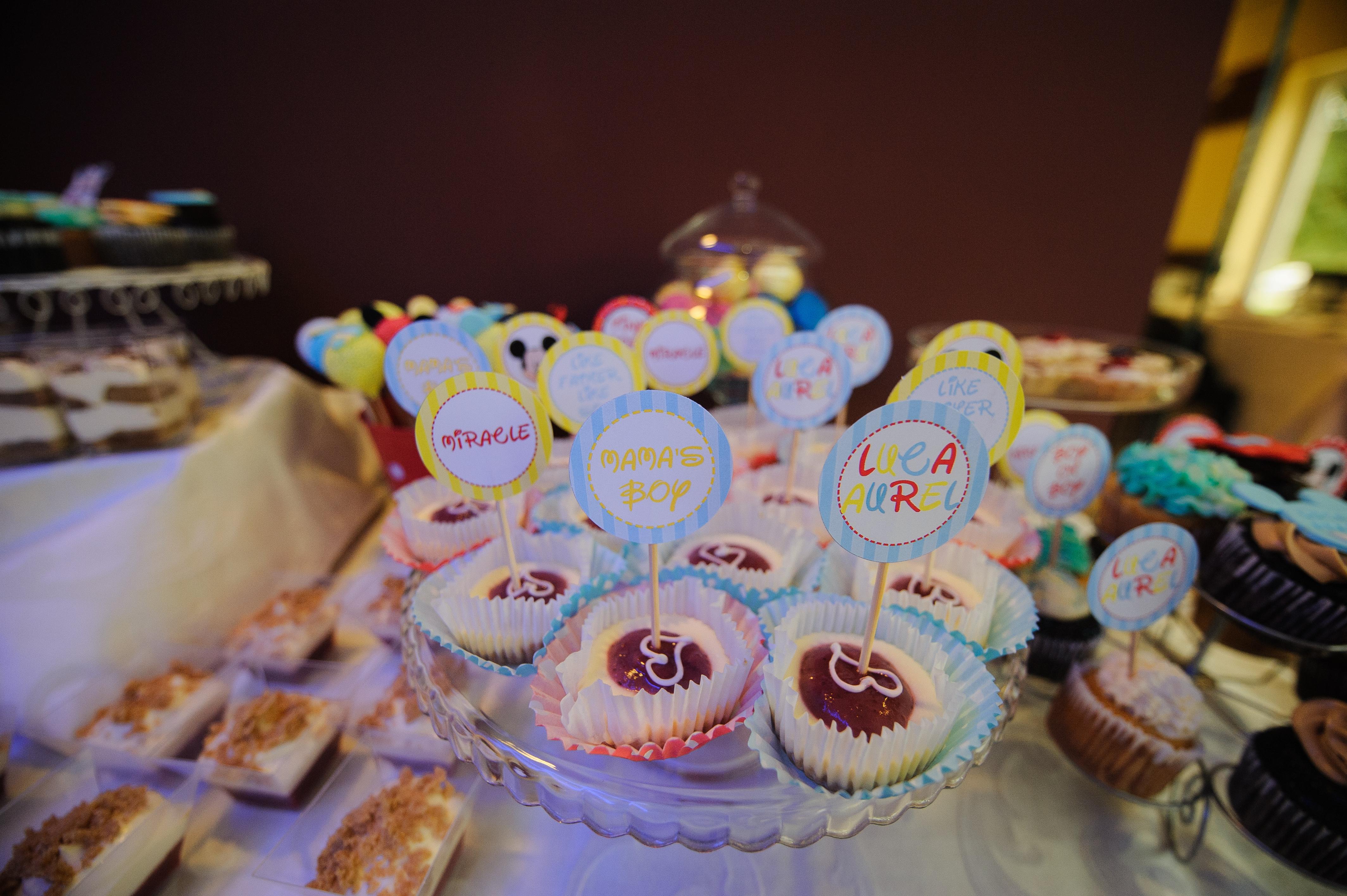 prajiturele botez candy bar mamaia