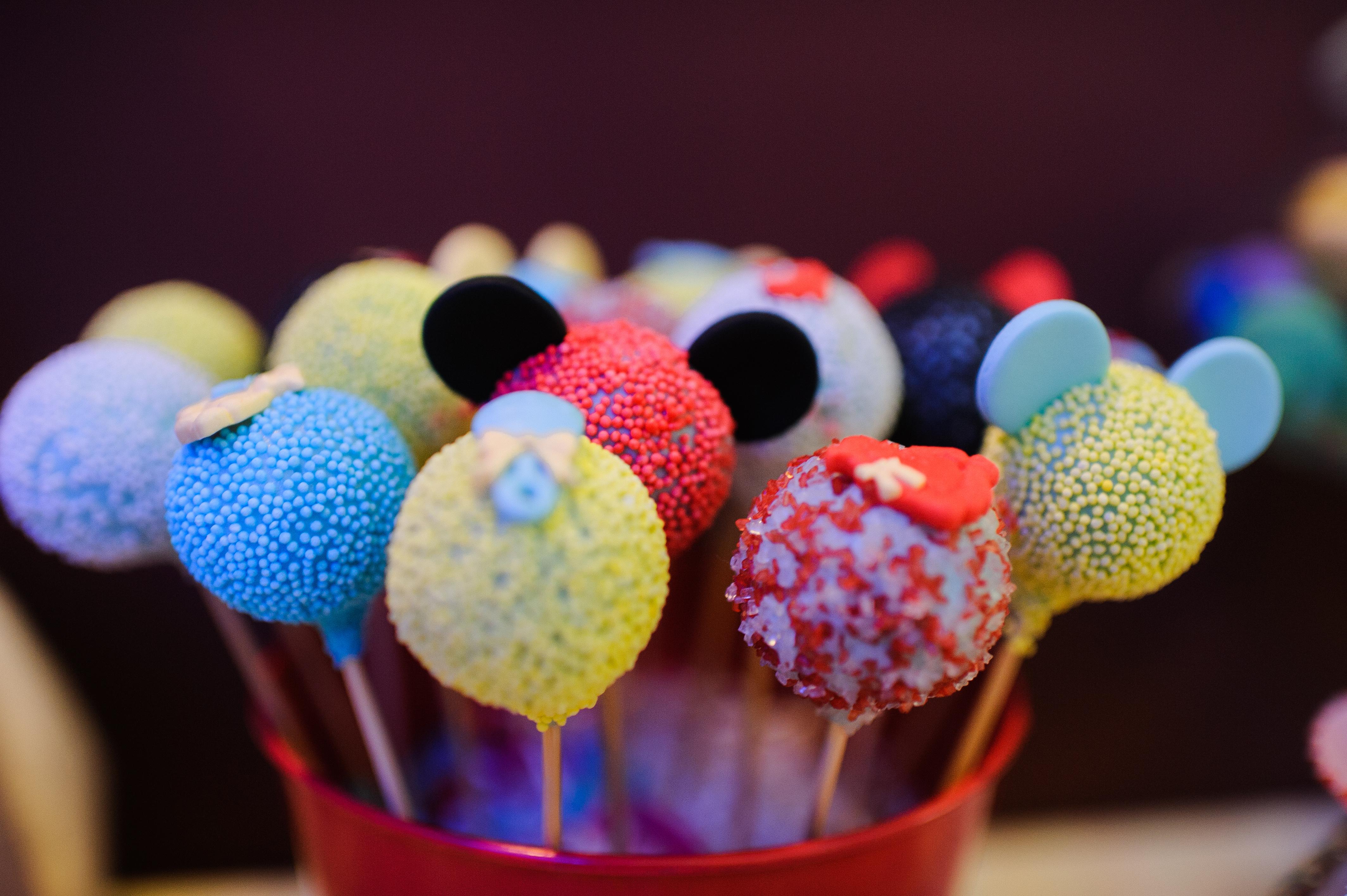 prajiturele frigarui candy bar michey mouse