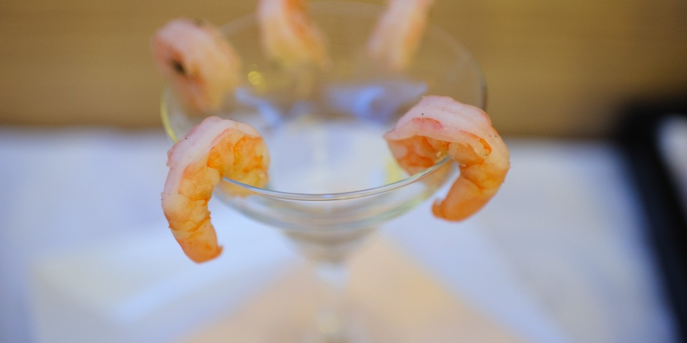 Shrimp Cocktail - Triumph Restaurant, Parc Mamaia Hotel