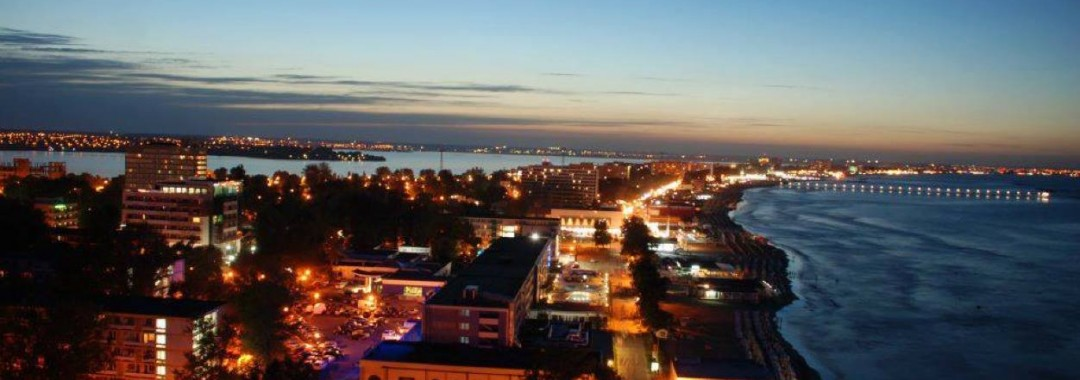 Mamaia resort hotel Parc Sky bar con vista