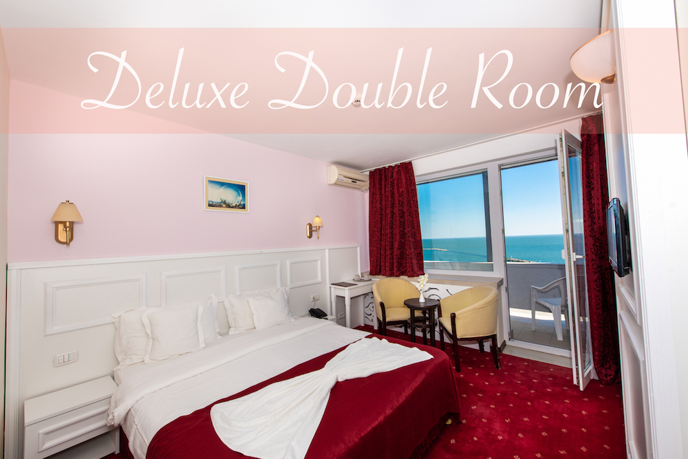 Accommodation in the deluxe double room