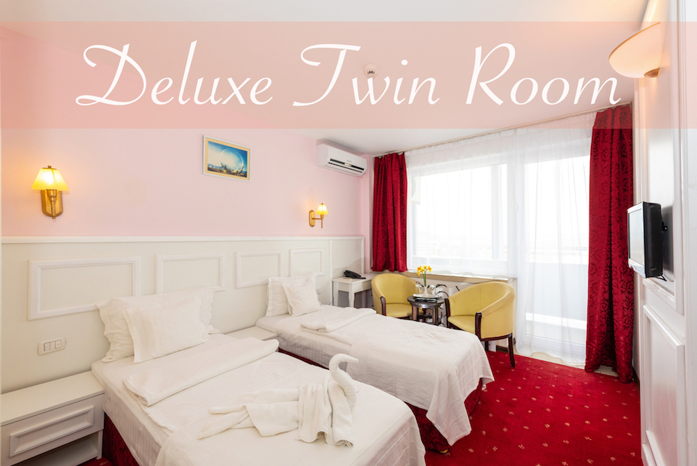 Accommodation in twin room